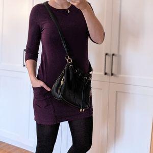 OUI brand Dress Sweater 2EU Purple Medium